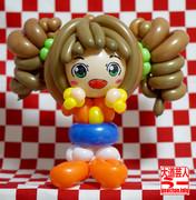 高槻やよい生誕祭をバルーンアートで祝う!【1日遅れ><】