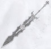 自作中二武器 魔剣ベルティーア
