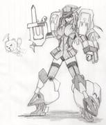 圧倒的な火力と装甲、突撃力を以って正面突破を可能とする艦娘