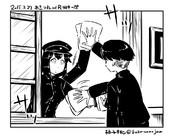 【艦これワンドロ】あきつ丸【描く予定のない漫画の一コマ】