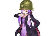 なんか大尉階級の鉄帽とタバコと某ゆかりさんを観て思いついた