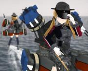 【モデル配布】重巡洋艦 プリンツ・オイゲン改 Ver1 【MMD艦これ】