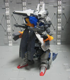 GNX-D001 ガンドラゴン(仮完成状態)