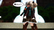 【艦これMMD】鈴谷&熊野が「LapTapLove」を元気よく踊ってみた♪【NGシーン】