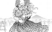 「白妙の徒花」表紙絵