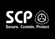 SCP財団ロゴ 黒背景ver
