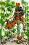 メロン畑と ISIS (エジプトの女神様)