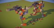 【Minecraft】二足歩行兵器【JointBlock】