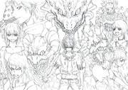 root of evil【下描き】