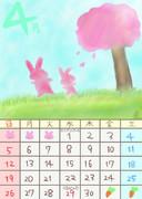 りんこりんカレンダー4月