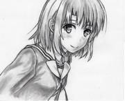 冴えない彼女の育てかたの加藤恵さんの模写です