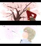 桜とばにーちゃん♡