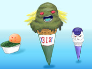 もしもブロリーがアイスクリームだったら