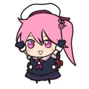 【トレス】ぶるらじ風 春雨ちゃん【GIF】
