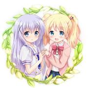 チノちゃんとアリスちゃん