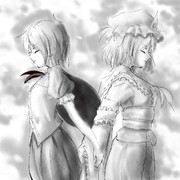 リグルと幽々子