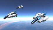[Space Engeneers] R-TYPE風戦闘機