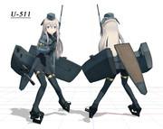 【MMD艦これ】U-511