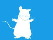 実験用マウス可愛くしたった。