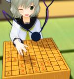 将棋で全駒やってるこいしちゃん