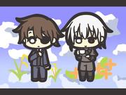稲穂と金木犀