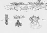 デスラー戦闘空母2199化計画(初期段階)