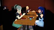 【MMD艦これ】カフェでデート【ゆうさみ】