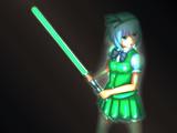 魂魄妖夢(ライトセーバー装備Ver)