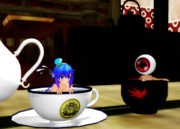 ティーカップお風呂と茶碗風呂 (Re)