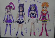 紫キュア:4人