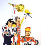 世界GP 表彰台