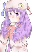 紫もやs((パチュリー