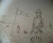 女騎士には熱い風がよく似合う