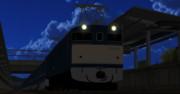 「MMD」EF62電気機関車β版配布開始