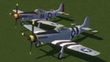 【Minecraft】P-51D マスタング【MCヘリ】