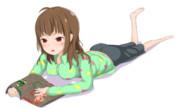 秋月律子の『MTGのはじめかた』第五話のサムネ