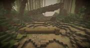 【Minecraft】一時間建築 「山道」