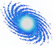 銀河 青い銀河