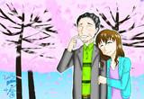 禁書:お花見上条夫妻