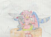 機甲竜と仙人