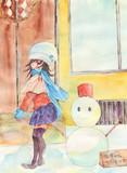九州なのに雪が降る