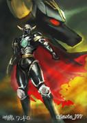 特撮ワンドロその10:黒騎士ブルブラック