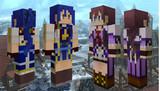 【Minecraft】 閃の軌跡 ラウラ&エマ【旧verスキン】