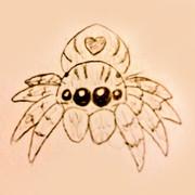 落書き蜘蛛