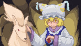 【ドット絵】八雲藍とキュウコン