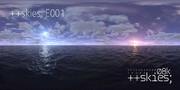 ++skies; E001 (Dual Sunlight) [8k4kスカイドーム素材配布]