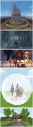 【Minecraft】一時間建築まとめ 2
