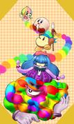 虹のキャスト達