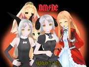 【MMDロック選手権】DM/DE「地獄のハイウェイ」