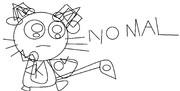 クリプトン 新 ボカロイド 公式 イラスト -01 初音クロ ブリュンスタッド